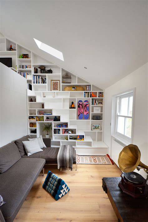 loft layout compact stairs the first step towards a happy tiny home
