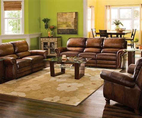 green living room with brown furniture stylish living room collections from raymour flanigan brown furniture furniture and