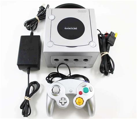 nintendo gamecube console for sale nintendo gamecube silver system console in great condition