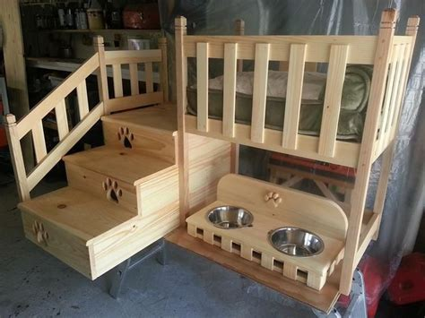 dog bunk beds pet bunk bed dogs pinterest loft beds pets and beds