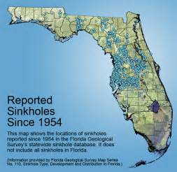 sinkhole map in florida sinkholes 101 save our suwannee
