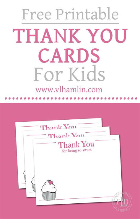 Gift Card For You - free printable thank you cards for kids food life design