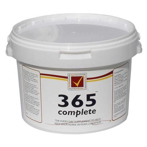 365 supplement for horses 365 complete feed balancers buy high quality feed