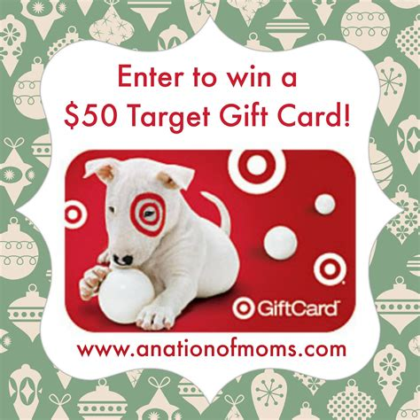 Target Holiday Gift Cards - 50 target gift card holiday giveaway a nation of moms