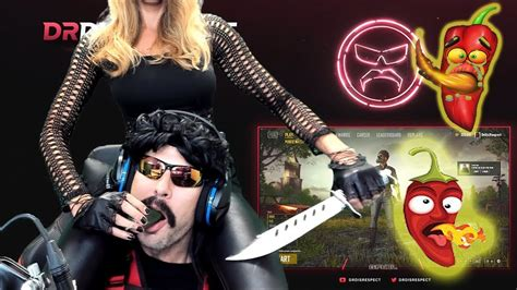 design by humans doctor disrespect drdisrespect s wife made him eat a hot jalapeno pepper on