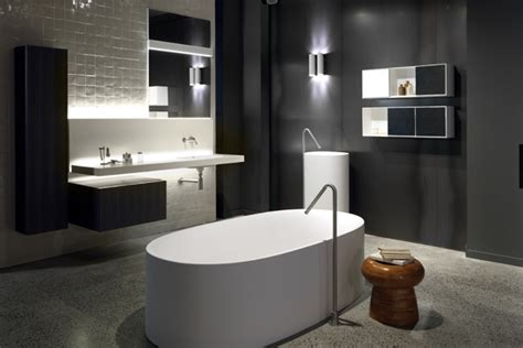 bathroom in sydney australia s sleek new boffi showroom indesignlive