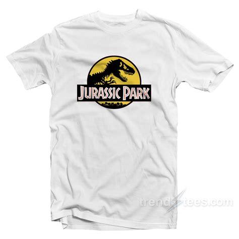 jurassic park symbol jurassic park logo cheap custom t shirt on sale