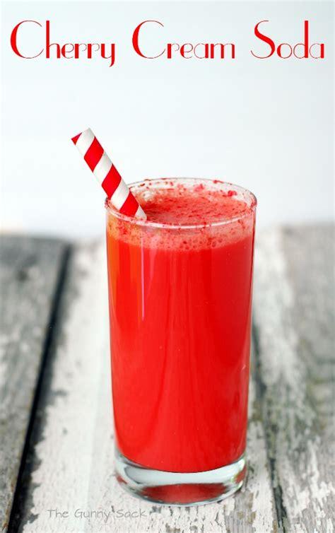 Handmade Soda - cherry soda recipe dishmaps