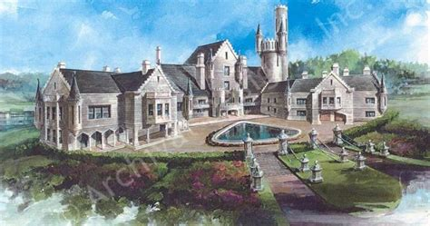 home design tips and tricks castle home balmoral house plan houseplans pinterest