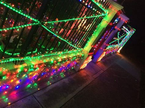 christmas lights and display in west hindmarsh adelaide
