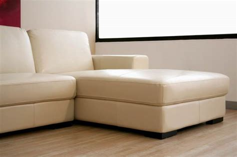 modern cream leather sofa modern ivory cream large leather sectional chaise sofa
