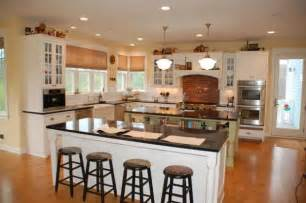 Country Kitchen Designs With Islands by Island Kitchen House Plans Backsplash Classic