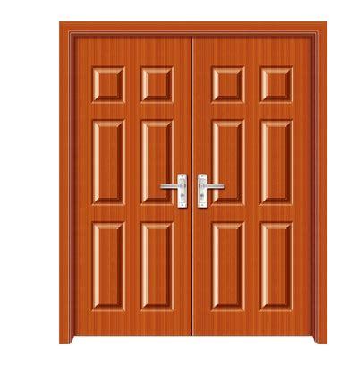door pattern rectangular patterns panel pvc double leaf door