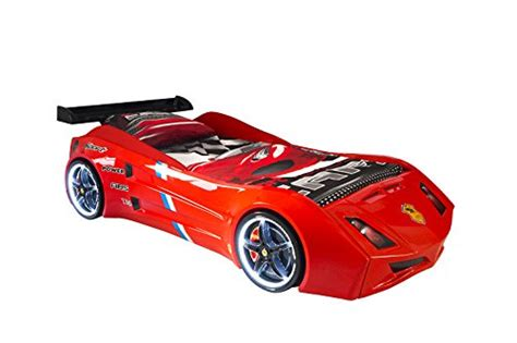 car twin bed frame cat supercar style racing car twin bed frame led lights in wheels remote control