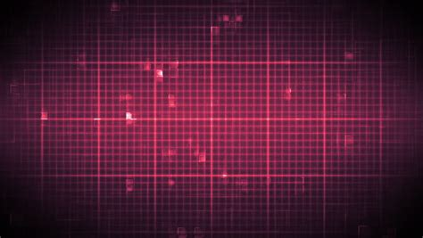 grid pattern on monitor fast heart rate on moving digital grid background in pink