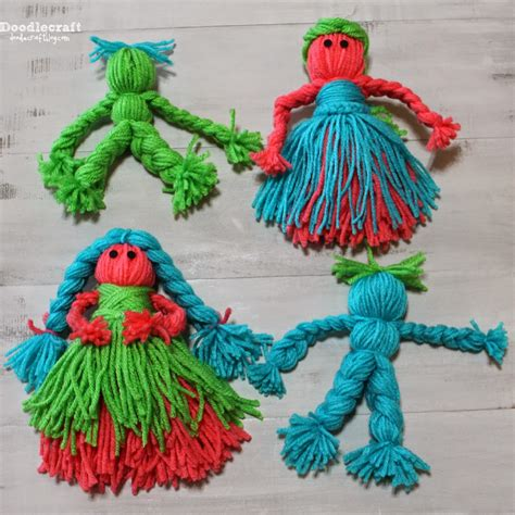 yarn craft projects crafts yarn dolls