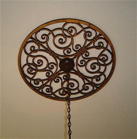 Wrought Iron Ceiling Medallions pin by threadbenders design studio on architectural