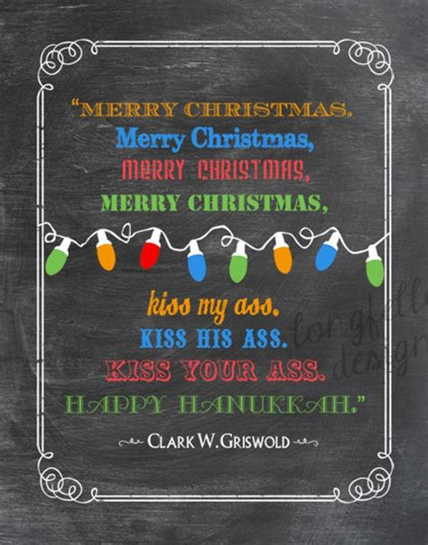 clark griswold colorful chalkboard     print fun