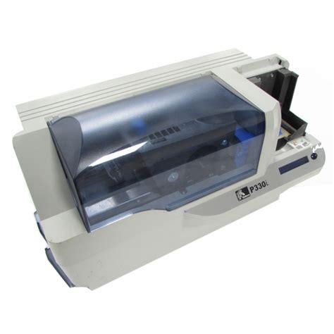 Printer Zebra P330i zebra p330i plastic id usb card printer power on tested ebay