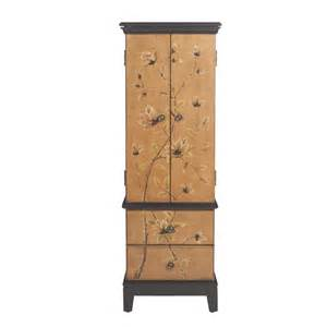 Home Decorators Collection Home Depot by Home Decorators Collection Lotus Jewelry Armoire In Tan