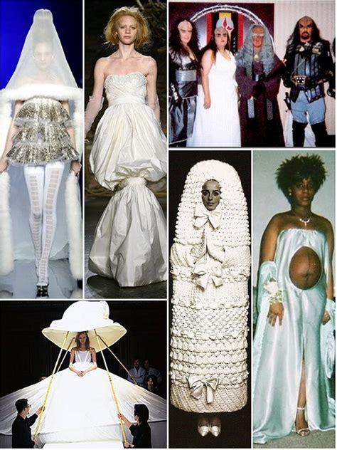 Ho Ho Horrible The Worst In Attire by World S Worst Wedding Wear The Wedding Secret Magazine
