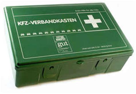 Pkw Versicherung Rechner Sterreich by Kfz Verbandkasten
