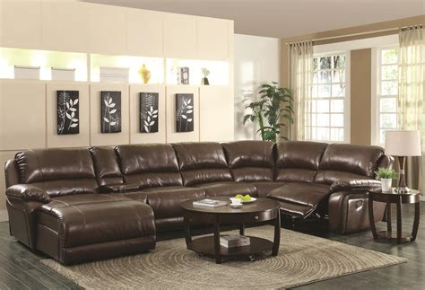 leather sectional sofas with recliners best sectional sofas with recliners and chaise homesfeed