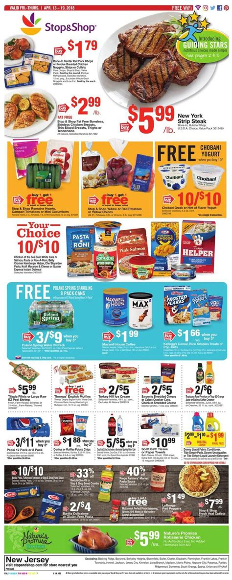stop shop weekly ad circular   promogrocery