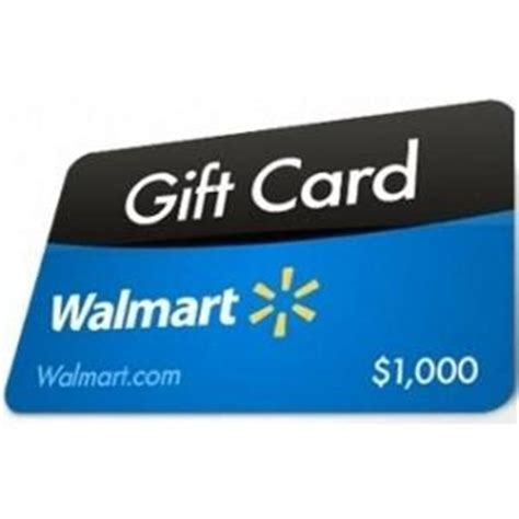 Wall Mart Gift Card - contest win a 1 000 walmart gift card 6 winners