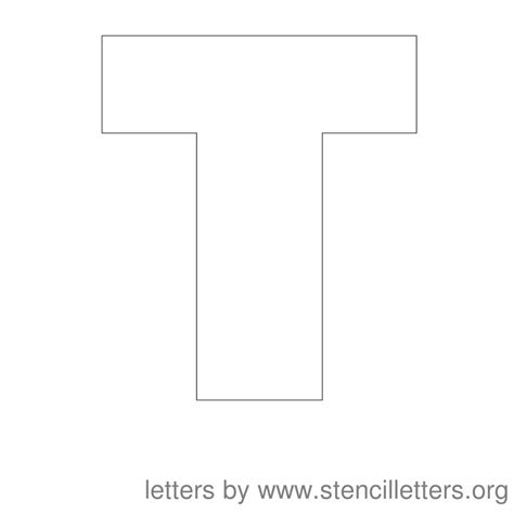 printable letter t stencils 5 best images of large printable letter t large