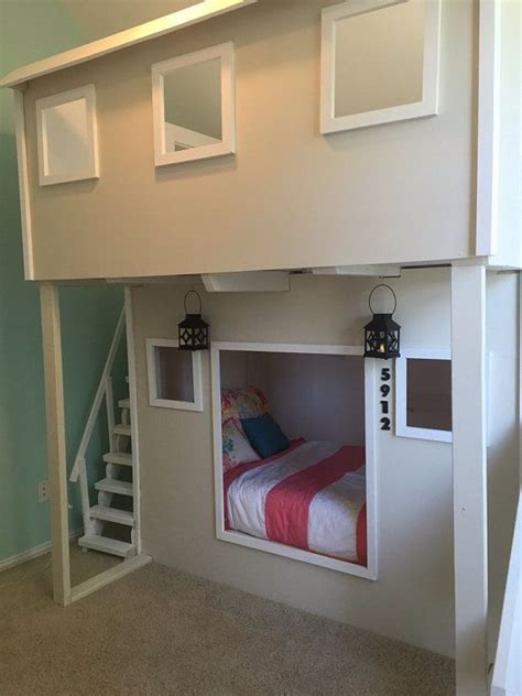 playhouse bed  stairs