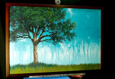 free painting lesson how to paint a forest painting tim gagnon studio