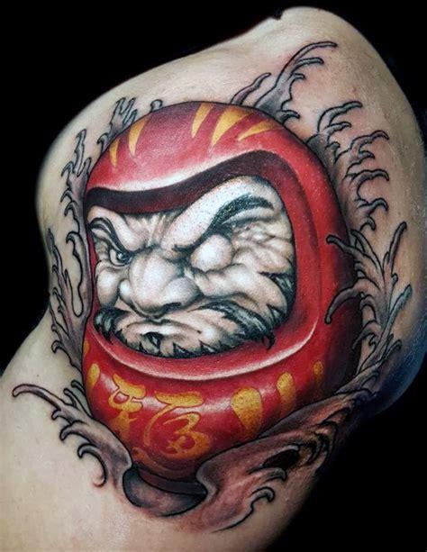 tattoo oriental daruma 60 daruma doll tattoo designs for men japanese ink ideas