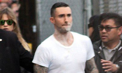 adam levine flour bombed outside jimmy kimmel live or adam levine news page 3