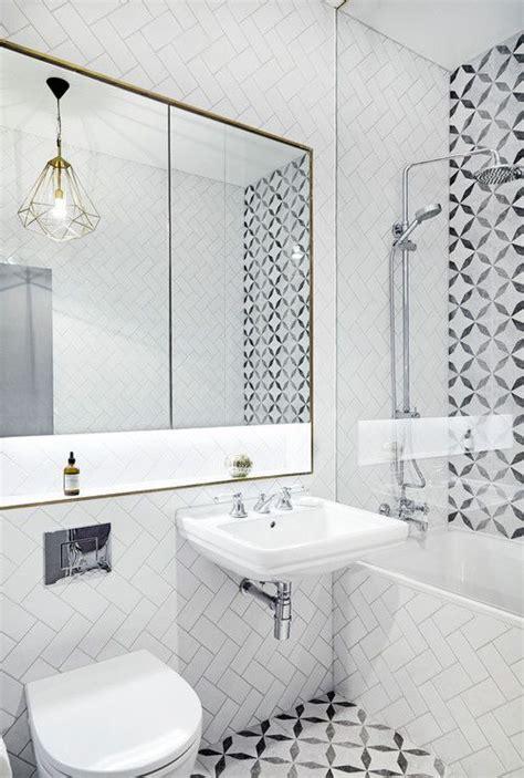 modern looking bathrooms
