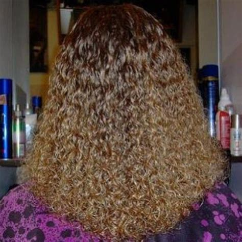 tight curly faux perm steps tight spiral perm long hair hairstylegalleries com