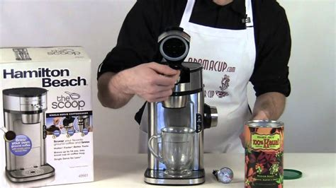 "Hamilton Beach Coffee Maker ""The Scoop"" Exclusive Review   YouTube"