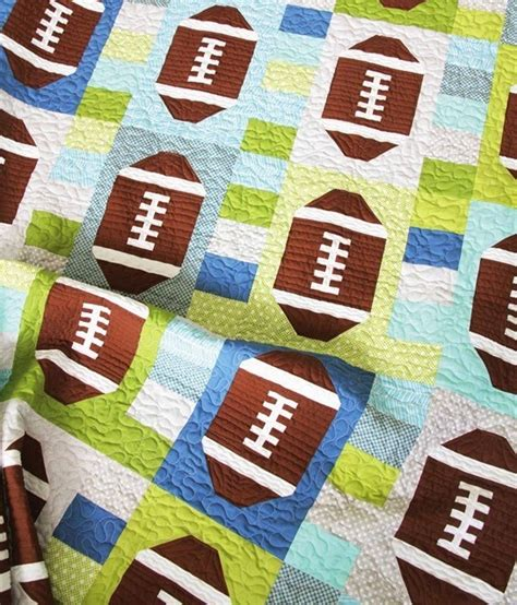 Football Quilts 16 quilts to make for blissfully domestic