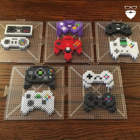 pattern game ideas video game controllers hama beads by piercepopart graces