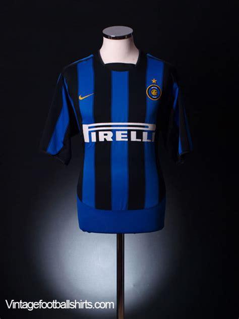 Sweater Inter Milan 04 2003 04 inter milan home shirt l for sale