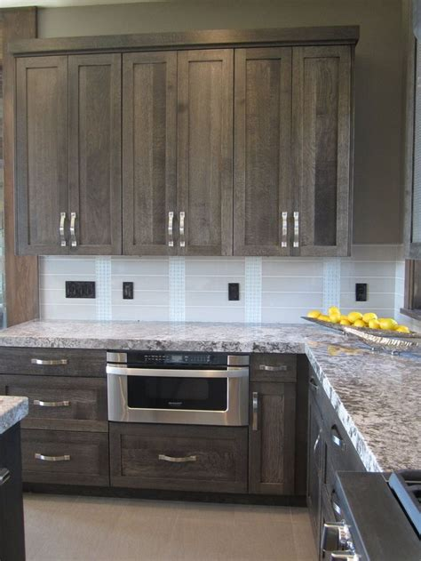 gray wood kitchen cabinets best 25 gray stained cabinets ideas only on