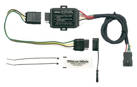 towing solution 11143875 trailer wire harness