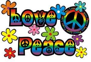 Autoaufkleber aufkleber hippie blumen reserveradcover love amp peace