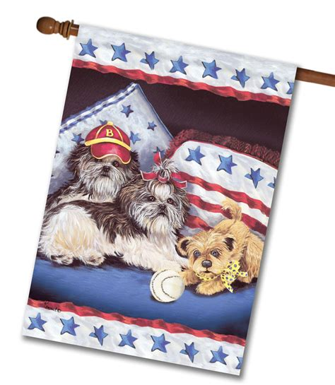 shih tzu house shih tzu house flag products breeds picture