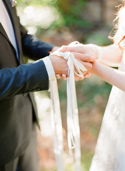 Wedding Ceremony Handfasting by 1000 Images About Handfasting Weddings On