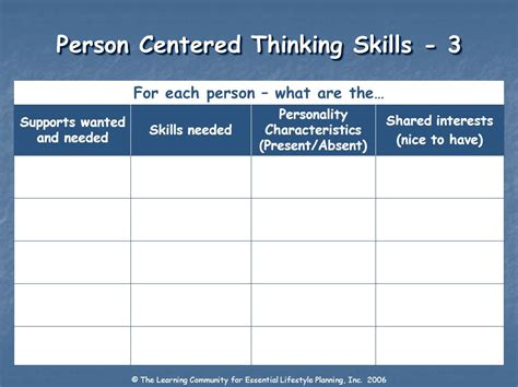 person centered thinking day 2 ppt person centered thinking day 1 ppt