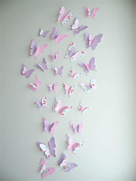 3d butterfly wall decor quot amarissa quot set felt