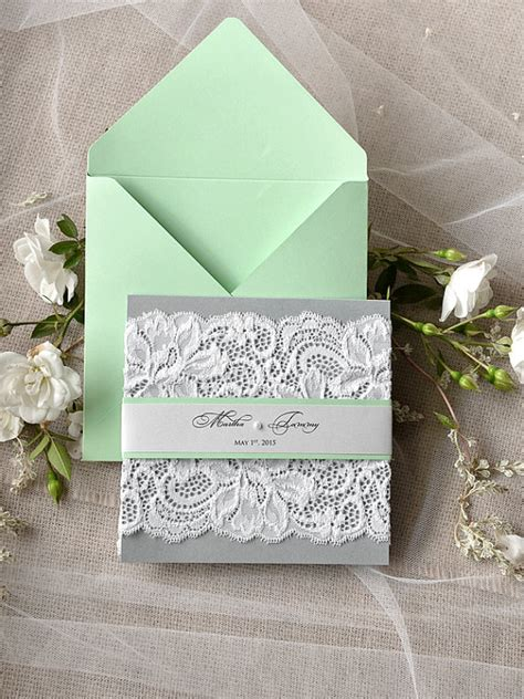 mint green wedding invitations 50 mint wedding color ideas you will deer pearl