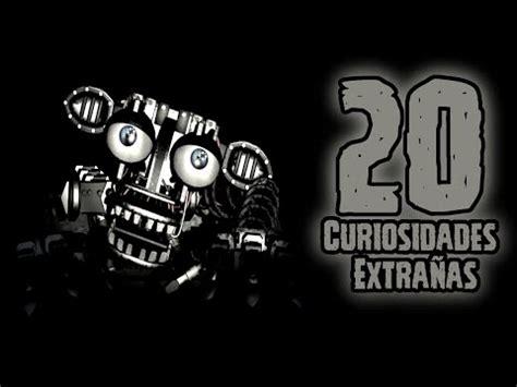 mensajes subliminales fnaf top 20 las 20 curiosidades extra 241 as del endoesqueleto de