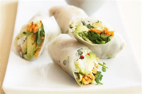Rice Paper Rolls In Advance - crab and avocado rice paper rolls recipe taste au